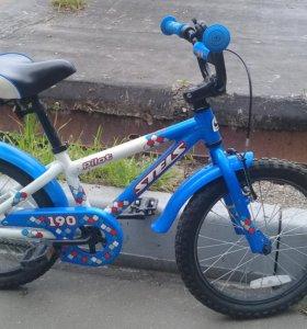 """Детский велосипед. Stels Pilot 190. Колеса 16"""""""
