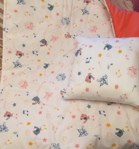 Одеяло детское и подушка