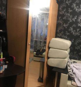 Шкаф для одежды с зеркалом