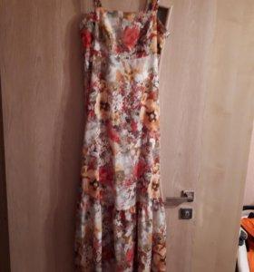 летнее платье.рост 170