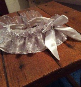 Свадебная подвязка невесты. Новая