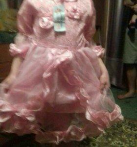 Платье на 5-8 лет