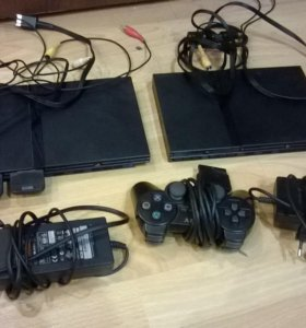 Две Sony PlayStation2