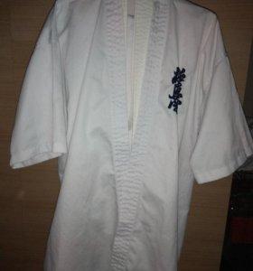 Кимоно для каратэ киокушинкай