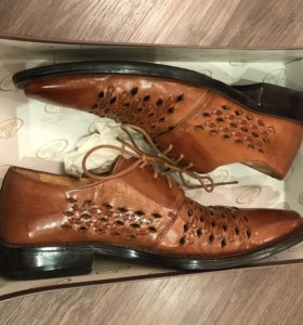 Ботинки Brooman, кожа 40р