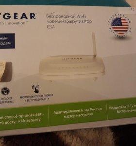 Новый Беспроводной Wi-Fi модем-маршрутизатор G54