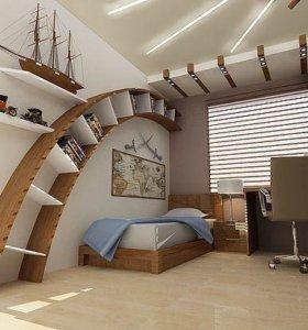 Детские кровати и комнаты