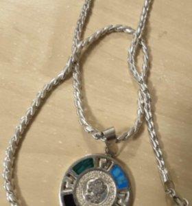 Цепочка с медаль Кулон Мексика