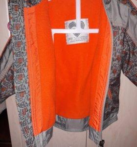 Куртка осень-весна на флисе