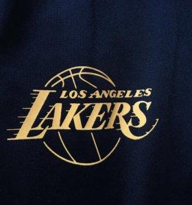 Баскетбольные штаны Los Angeles lakers adidas