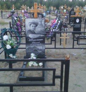 "Памятники и оградки на заказ!""СПК"""