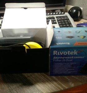 Эхолот Rivotek fisher 20 Dual