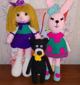 Вяжу игрушки и куклы на заказ