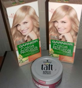 Краска Garnier Гель-воск для волос Taft