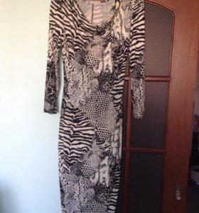 Новое элегантное платье, вискоза, от Юдашкина.
