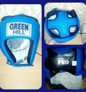 Защитный шлем Green Hill pro