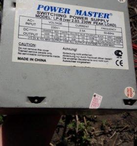 Блок питания на компьютер POWER MASTER