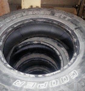 Внедорожные шины cooper discoverer stt r17