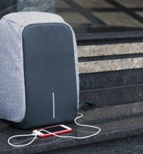 Антивандальный рюкзак с usb зарядкой