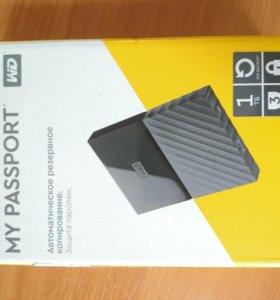 Внешний жесткий диск WD My Passport 1TB
