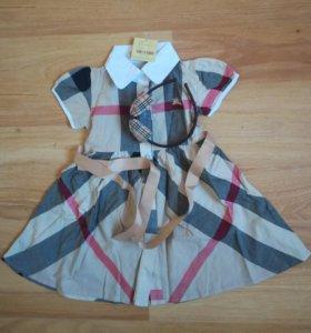 Платье барберри новое