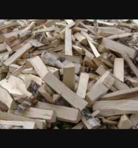 дрова колотые и не колотые