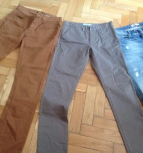 Джинс , лён брюки