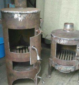 Печь-буржуйка дачная