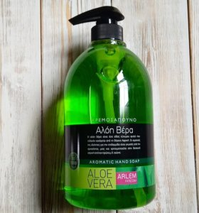 Жидкое мыло для рук ARLEM. с ароматом Алоэ вера