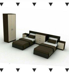 Спальный гарнитур Твикс