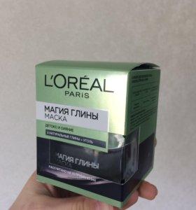 L'Oreal магия глины, маска для лица