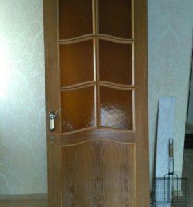 Дверь 80*2000 б/у