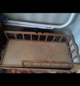 Детская кровать от года до 6 лет