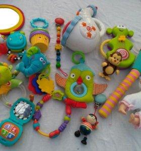 Игрушки пакетом или отдельно