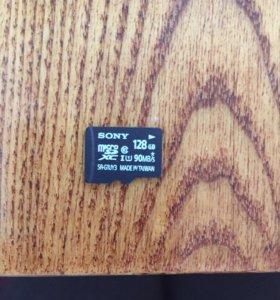 Карта памяти SONY MIKRO SD 128GB