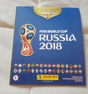 Альбом для наклеек к Чемпионату мира по футболу