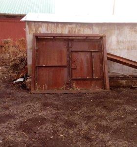 Ворота горажные