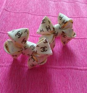 Бантики для девочек ручной работы