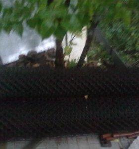 Калитка и сетка рабица для дачного участка