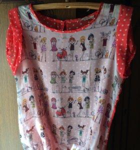 Женская блузка размер 44-46