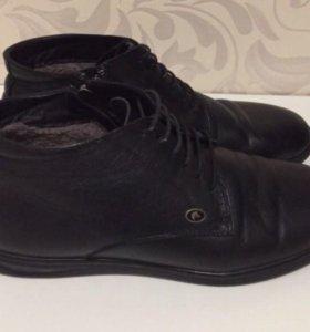 Мужские зимние ботинки-41размер