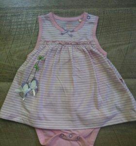 Боди - платье