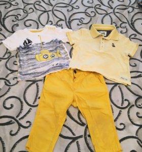 Пакет летней одежды для мальчика