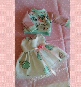 Одежда для интерьерной куклы
