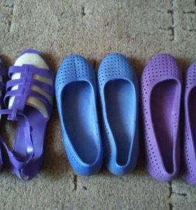Туфли купательные женские, новые