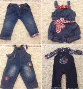 Комбинезоны, джинсы mayoral р80-86
