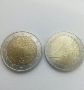 2 Евро Германия , Греция , Австрия , Голландия