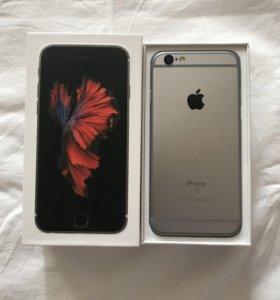 iPhone 6S 64gb Чёрный Отличное состояние, комплект