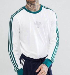 Белый лонгслив adidas Skateboarding Club CF5813