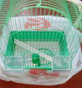 Клетка для попугая 1-2шт .